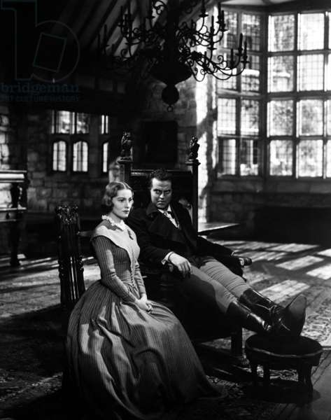 Jane Eyre: JANE EYRE, Joan Fontaine, Orson Welles, 1944, TM & Copyright (c) 20th Century Fox Film Corp. all rights reserved.