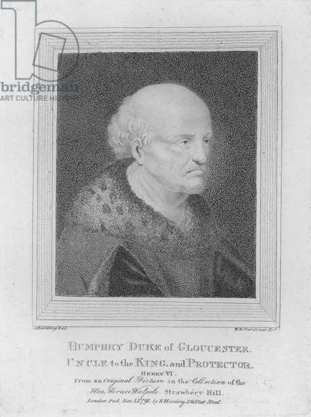 Humphry, Duke of Gloucester, Uncle to the King and Protector (engraving)