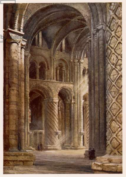 DURHAM/CATHEDRAL NAVE