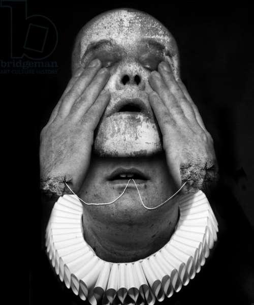 A clowns death (serie), 2016 (photo manipulation)