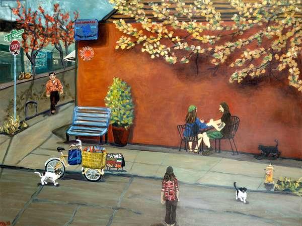 Sellwood Tamales, 2020, (acrylic on canvas)