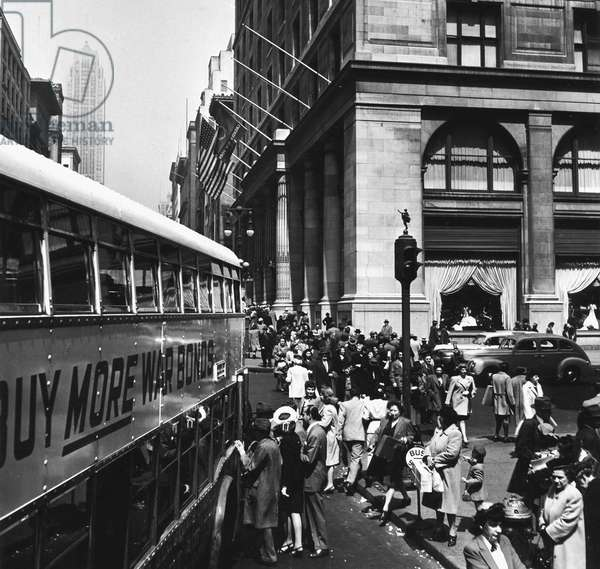 New York in the 1940th