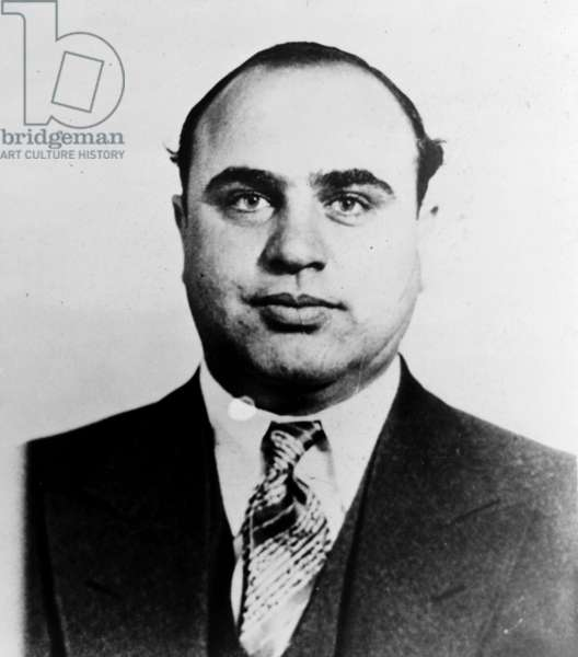 "Alphonse Gabriel ""Al"" Capone, 1945"