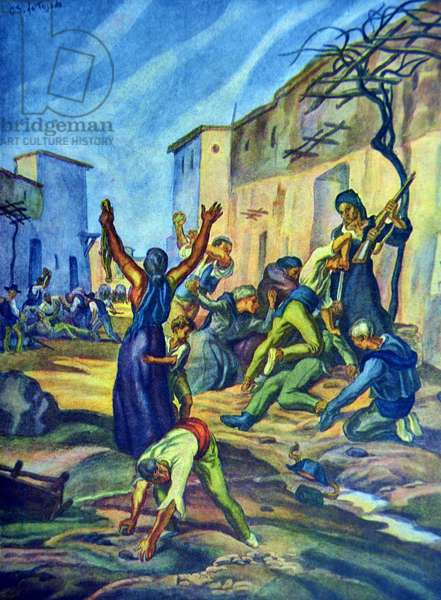 Spanish civil war: Castilblanco