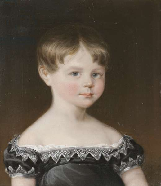 William Wolryche-Whitmore MP as a Young Boy, 1819 (oil on canvas in a giltwood frame)