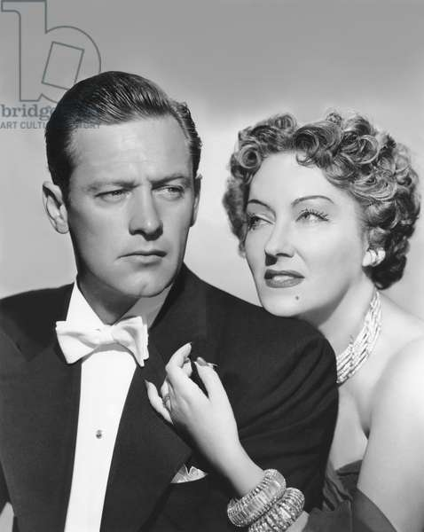 William Holden And Gloria Swanson