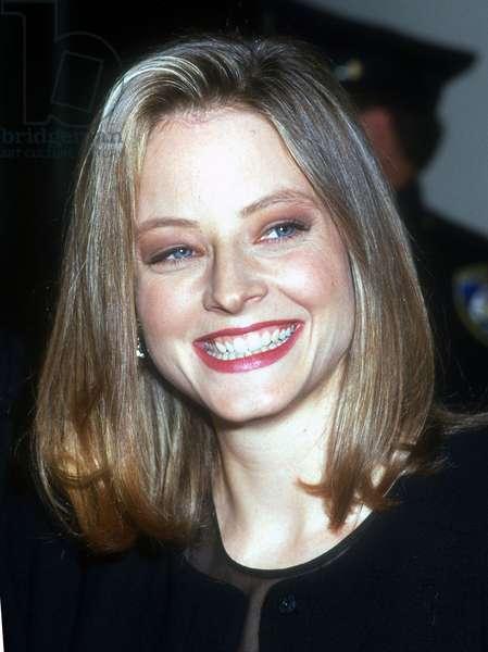 Jodie Foster, 1992 (photo)