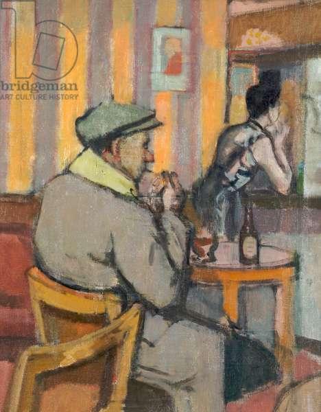 Bar Parlour, c.1960 (oil on canvas)