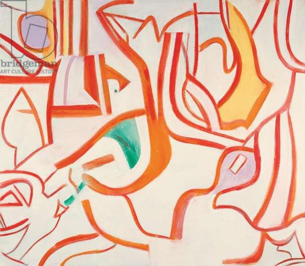 Untitled XVIII, 1986 (oil on canvas)