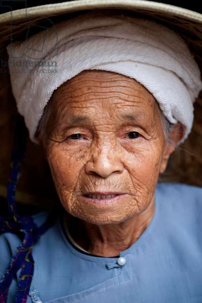 Portrait of women in Southern China, (photo)
