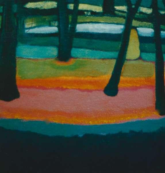Vigil, 2001 (oil on canvas)