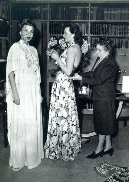 JEANNE LANVIN (1867-1946) French fashion designer.