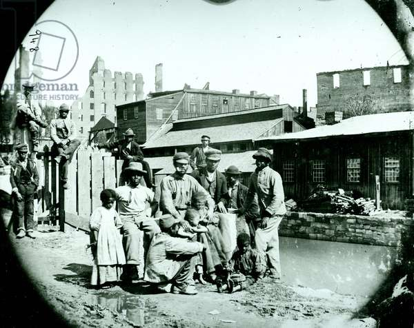 African-American family after Civil War