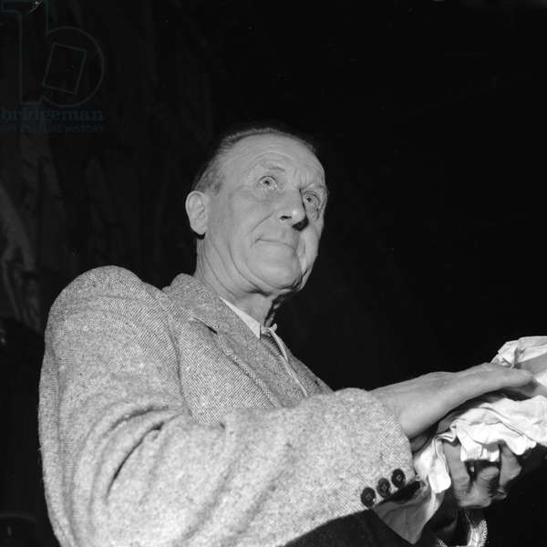 Louis Desprez, murderer of his wife when he was drunk, (Photography) 1952
