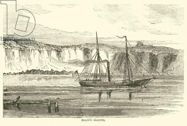 Ellis's Bluffs, May 1862 (engraving)
