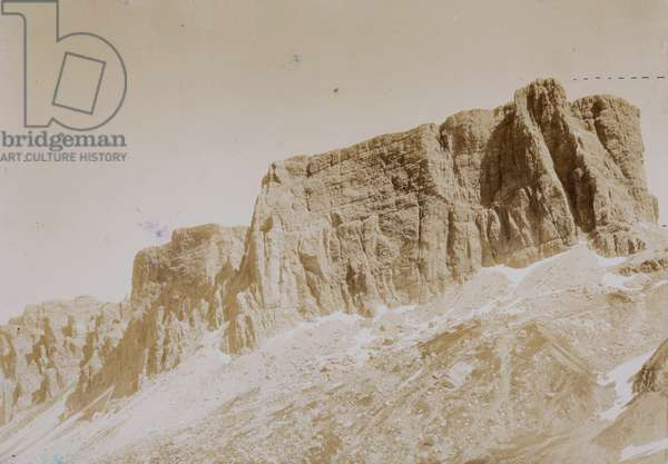 Dolomitic Alps: Mount Carnera seen from Giau pass