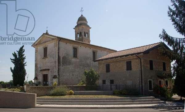St. Giuliano church, Panigai, Friuli, Italy (photo)