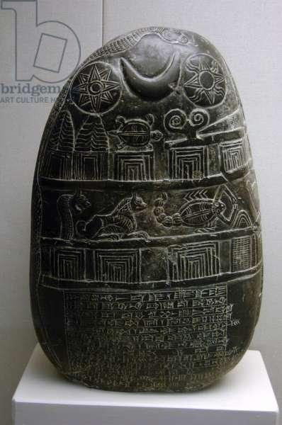 The Eanna-shum-iddina kudurru (1125-1100 BC), Kassite Dynasty