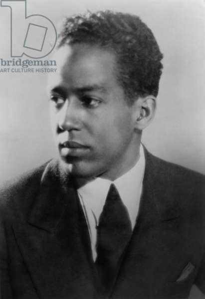Langston Hughes, African American poet, novelist, playwright, and journalist, c. 1930