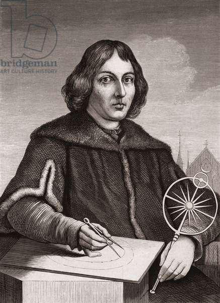 Nicolaus Copernicus, c.1850 (engraving)