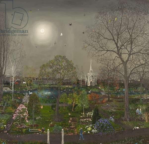 Garden in the East, 2014 (oil on linen)