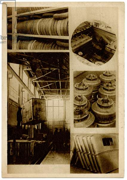 Warehouse at the Communist Youth International (KIM) Car Parts Factory in Moscow, c.1930