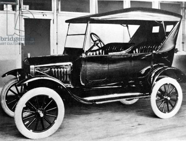 1923 Model T Ford.