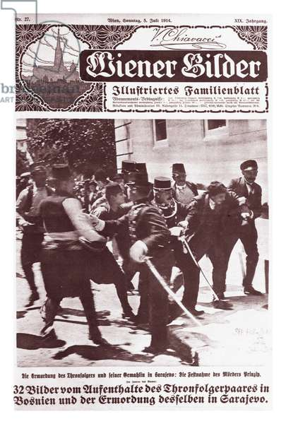 Cover of the Austrian Magazine