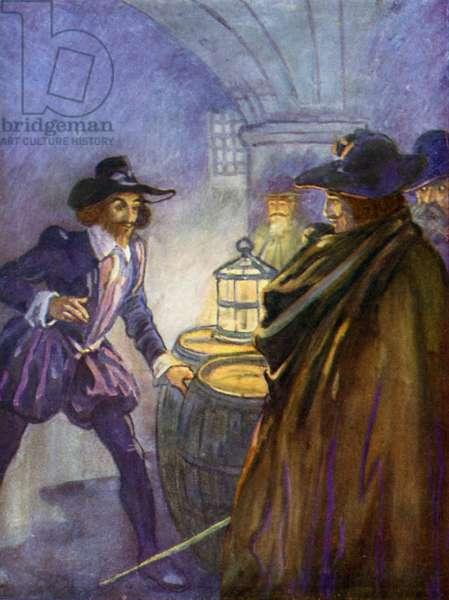 Guy Fawkes (colour litho)