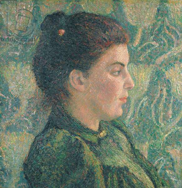 Portrait of Esther in Profile, 1893 (oil on canvas)