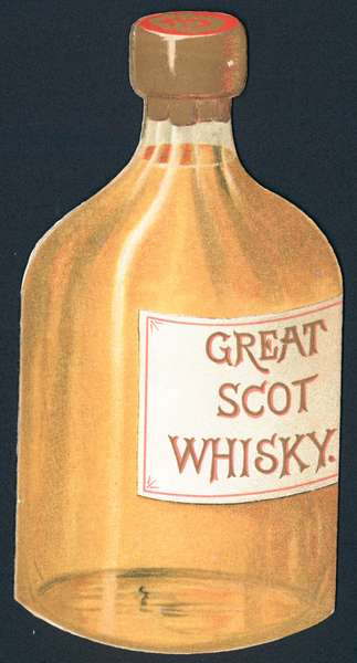 Great Scot Whisky, Card (chromolitho)