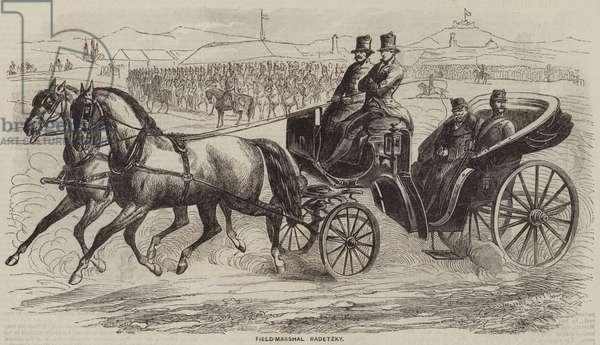 Field-Marshal Radetzky (engraving)