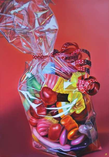 Seventy Sweethearts, 2014, (oil on canvas)