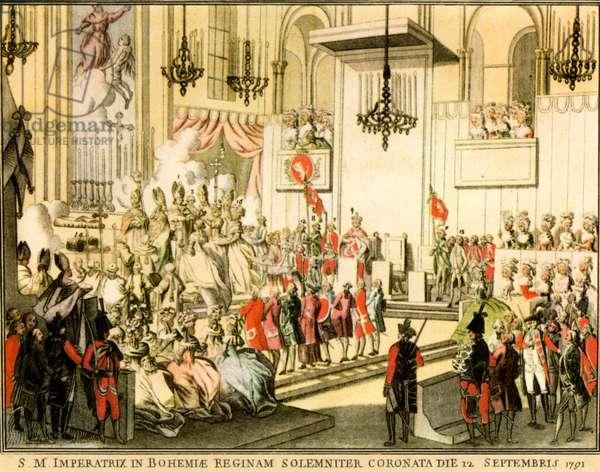 Coronation of  Leopold
