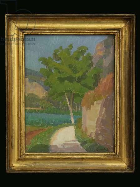 Walnut Tree, 1920 (oil on canvas)