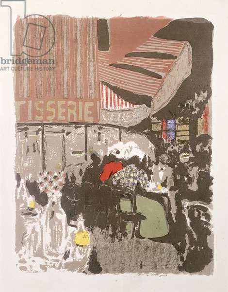 La Patisserie, from Paysages et Interierus, 1899 (lithograph printed in colours)