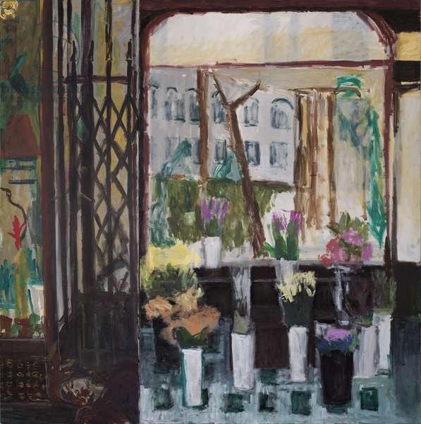 The Floris:Sicilian Avenue) (oil on canvas) (dyptich)