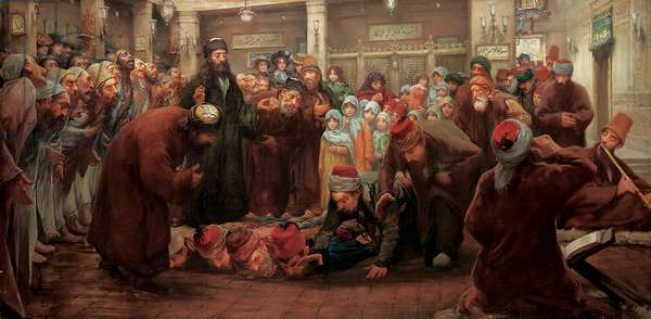 Dervish Ceremony, 1910 (oil on canvas)