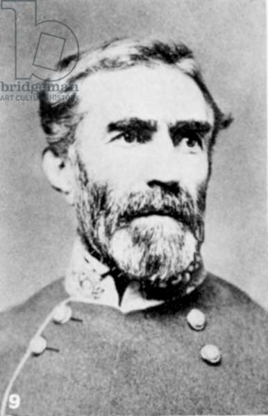 Braxton Bragg (1817-1876) American soldier. General in Confederate (southern) army during American Civil War 1861-1865.