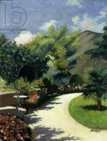 Girl in a Garden, Le Pradet; Fillette au Jardin, Le Pradet, c.1925 (oil on canvas)