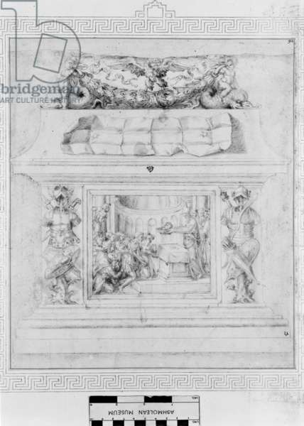 Decoration of a Casket, c.1535 (pen & ink on paper)