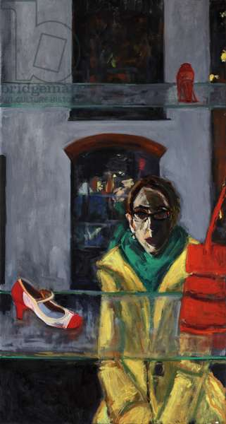 The Window, 2013 (acrylic and oil on canvas)
