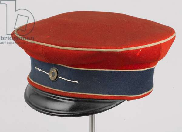 Forage cap, HRH The Duke of Connaught, 3rd Zieten Hussars, German Army, pre-1914 (forage cap)