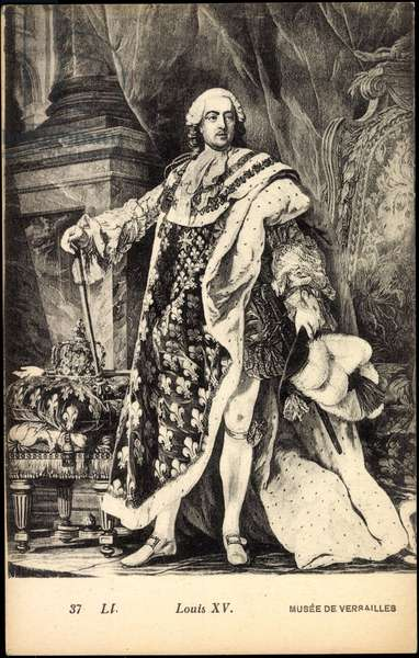 Artist Roi Louis XV, Musée de Versailles