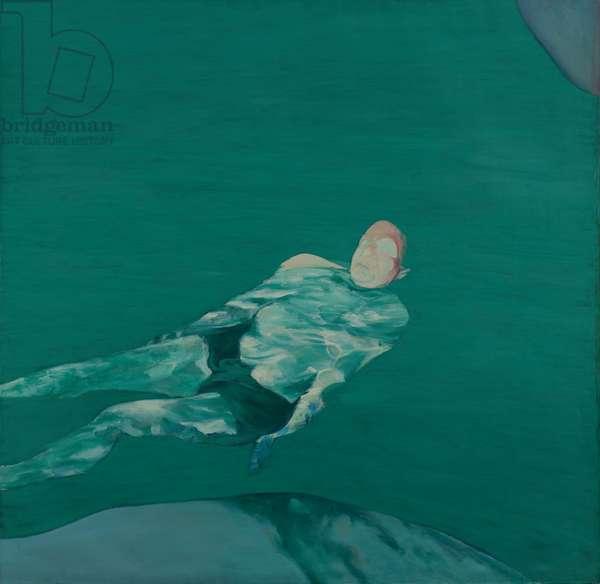 Floating Figure I, 1960 (oil on canvas)