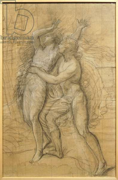 Apollo and Daphne by Andrea Appiani (1754-1817), drawing