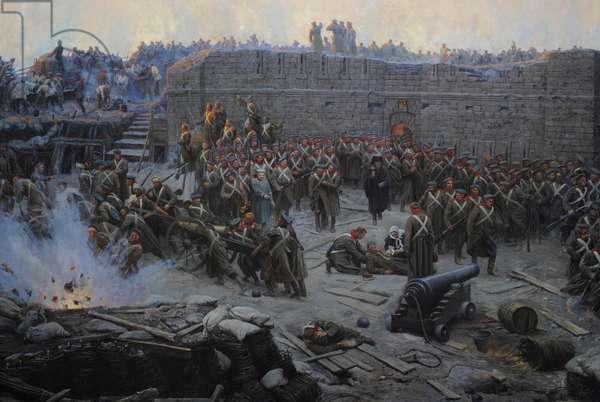 Crimean War (1853-1856). Siege of Sevastopol, 1854-1855, by Franz Alekseyevich Roubaud (1856-1928).