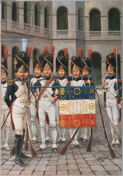 The Grognards 1813, 1992 (oil on linen)