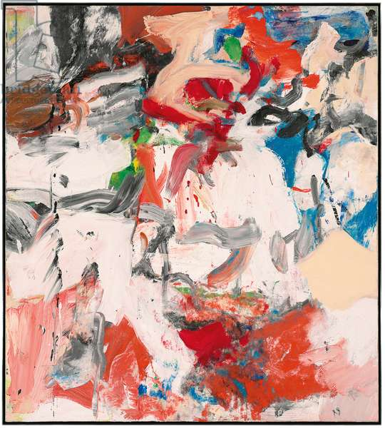 Untitled XI, 1975-1976 (oil on canvas)