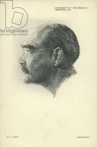 Portrait of Rudyard Kipling (engraving)